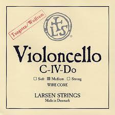 Larsen 大提琴 C 弦 (金屬絲心鎢合金)