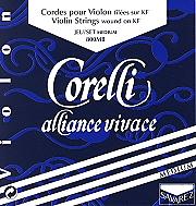 Corelli Alliance Vivace 小提琴套裝 (E 弦 尾部球狀)