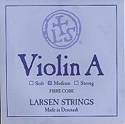 Larsen 小提琴鍍金 E 弦 (尾部環狀)