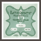 Lenzner Goldbrokat 小提琴 E 弦 27