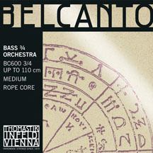 Belcanto  低音提琴 C 加長弦