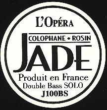 Jade 低音提琴獨奏松香