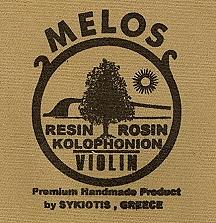 Melos 中提琴松香 ( 深色 )