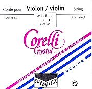 Corelli Crystal 小提琴套裝 (E 弦 尾部球狀)