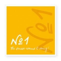 No.1 Universal 小提琴 E 弦 (尾部球狀)