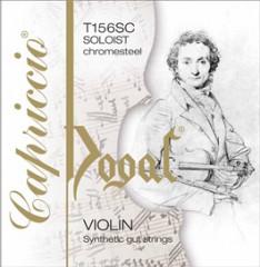 Capriccio Soloist 小提琴套裝 (E 弦尾部球狀)