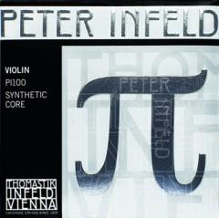 PI-Peter Infeld 小提琴套裝 (錫合金 E 弦, 銀 D 弦)